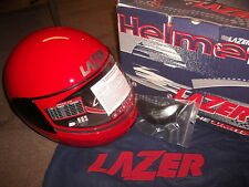 MOTORCYCLE HELMET FALCON HURRICANE LAZER EXTRA SMALL (XS) RED R11