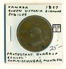 1897 Canada Queen Victoria Diamond Jubilee Montreal Medal
