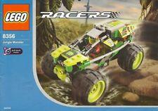 LEGO JUNGLE MONSTER 8356 Set Drome Racers monster truck speed champions