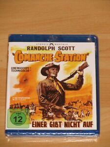 Einer gibt nicht auf-Comanche Station (Randolph Scott) Blu ray Neu / OVP