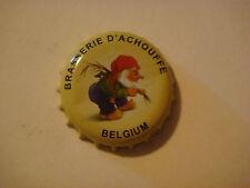 BEER Bottle Crown Cap ~ Brasserie D'Chouffe Biere ~ D'Ardenne, BELGIUM Est. 1982