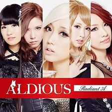Aldious Radiant A First Limited Edition CD DVD Japan F/S ALDI-4 4580413073700