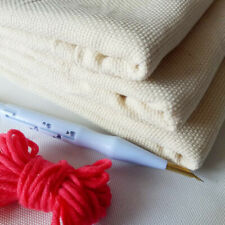 Monks Cloth For DIY Embroidery Needlework Fabric Sewing Punch Needle Handmade