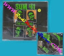 CD Singolo SUM 41 The hell song 2002 eu ISLAND SUMCDP8 no lp mc dvd*SEALED(S9**)