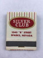 Vintage Silver Saddle Casino Nevada Matchbook Lounge Coffee Keno