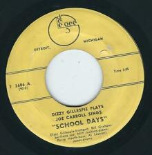 MI R&B Jump / Jazz - Dizzy Gillespie DEE GEE School days / I'll get you yet ♫