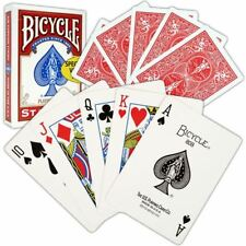 Bicycle Playing Cards  1 pack of Red Casino Poker Game Fun Cards