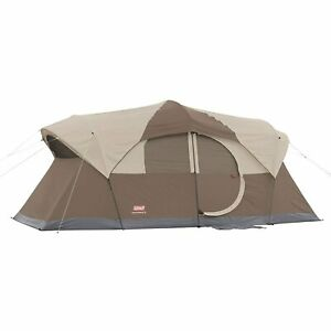 NEW Coleman WeatherMaster Family Tent (Ten/10 Person) w/ Rainfly FREE shipping 6