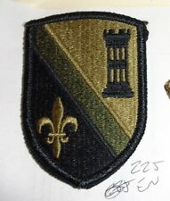 U.S. ARMY PATCH,SSI, 225TH ENGINEER BDE, ON MULTICAM, SCORPION WITH VELCR