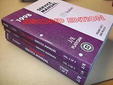1998 GEO TRACKER SHOP MANUAL SET / ORIGINAL G.M. SERVICE BOOKS Second Edition