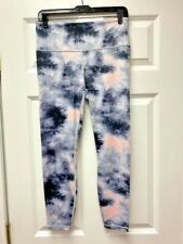ATHLETA Elation Ice Dye 7/8 Tight in Powervita NEW - MEDIUM Orchid Pink $89