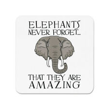 Elephants Never Forget That They Are Amazing Fridge Magnet - Funny
