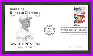 ROBERTO CLEMENTE: 1984 - event cover WALCOPEX '84 - Everett Thelen cachet