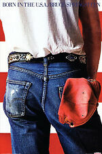 Bruce Springsteen BORN IN THE USA Album Cover Wall POSTER