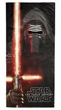 "Star Wars Beach The Force Awakens Towel EP7 Kylo Ren 28"" x 58"" 100% Cotton new"