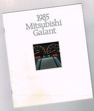 1985 MITSUBISHI GALANT Catálogo/ CATALOG: ECS, etacs III,