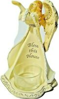 YANKEE CANDLE Bless this House Angel Dove Tea Light Candle Holder 1207756