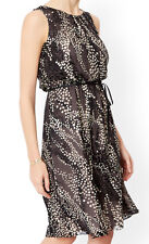 MONSOON Marie Spotted Silk Dress BNWT