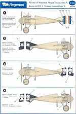Begemot Decals 1/48 MORANE SAULNIER TYPE N Russian Imperial Air Force
