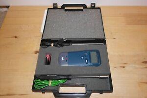 Digitron 2000t Thermometer K type sensor. Temp. range: -200°C to +1350°C