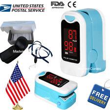 Fingertip Pulse Oximeter Spo2,PR Blood Monitor Blood Oxygen,Pouch,USA On Sale!
