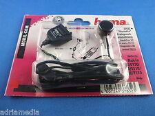 HAMA HEADSET für Nokia 7110 6310 6210 5110 Adapter mit Ohrhalterung Freisprechen