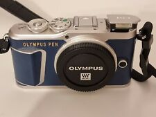 OLYMPUS E-PL9 Blau Systemkamera KIT 14-42mm F3.5-5.6 EZ ED Silber in OVP TOP!!