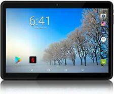 Mediatek Tablet PC Android 8 Wifi 10.1 In UK Plug/ 64/128GB