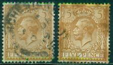 Great Britainsg-382, Scott # 166, Used, Very Fine, Read, 2 Stamps, Great Price!