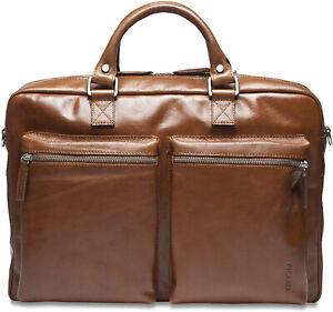 PICARD Tasche Buddy 5209 Aktentasche Umhängetasche Echtleder DINA4 cognac NEU