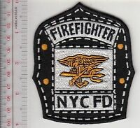 Firefighter New York City NYC Fire Department Fire Engine 53 US Navy SEAL Helmet