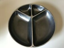 """Large 14 Inch Metal """"Peace"""" Serving Dish"""