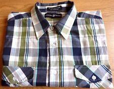 Beverly Hills Polo club Homme à Manches Courtes Chemise À Carreaux Taille XL