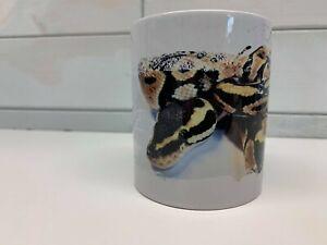 Royal Python Coffee Mug 11 oz Cup Original Unique Art Work by D Tate - Reptile
