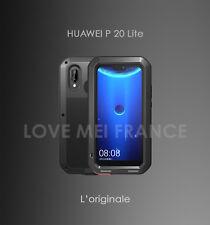 Coque antichoc et etanche HUAWEI P20 LITE - LOVE MEI FRANCE - Noir