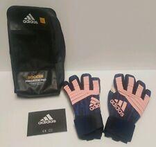New adidas Predator Pro Adult Goalie Goalkeeper Soccer Gloves Size 11 Pink Black