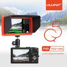 "LILLIPUT 5.5"" Q5 1920x1080 DSLR Kamera Monitor SDI HDMI Konversion YRGB Spitze"