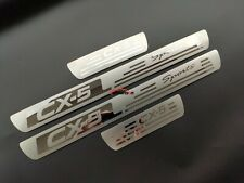 For Mazda CX5 cx 5 Accessories Car Door Sill Protector Scuff Plate 2013 2019