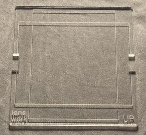 Viewfinder Mask 40x54mm Hasselblad V Camera Leaf Aptus Credo Phase One IQ P65