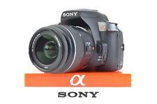 Sony a330 10.2 MP DSLR Camera Kit w/18-55 & 55-200 Lens; Shutter Ct:2289 #L0044