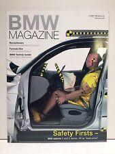 BMW Magazine January 2001:  BMW Safety, Z9 & iDrive, Formula One Season, R1150R