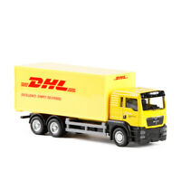 MAN TGS Express DHL Container Truck 1:64 Scale Car Model Diecast Toy Vehicle Kid