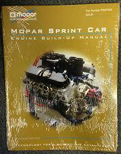 NEW Mopar Sprint Car Engine Buildup Manual    Part Number:  P5007520