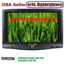 """Lilliput 619A 7"""" HB HD on Camera Field TFT LCD Monitor VGA/Audio/HDMI/DVI Input"""