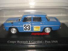 ELIGOR RENAULT RENAULT 8 GORDINI # 33 - PAU 1968 au 1/43°