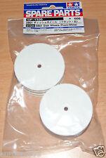 Tamiya 51320 DB01 Dish wheels (Avant/blanc) (DB-01/DB01R/TRF501x/TRF511/TRF502x)