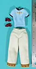 Mattel Barbie Doll Fashion Avenue Metro Styles Gulf Coast Clothes Shoes 25701