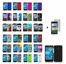 Alcatel One Touch Pop Mega LTE A995G (Straight Talk) Hard Phone Cover + S.P