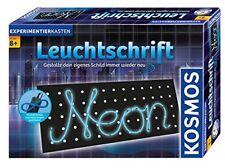 Kosmos 613105 - Leuchtschrift Neu & OVP