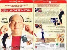 VIDEOCASSETTA VHS C'ERA UN CINESE IN COMA, Beppe fiorello, Carlo Verdone
